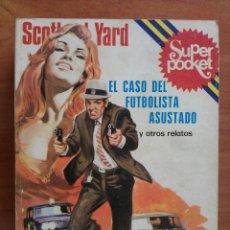 Cómics: RETAPADO NÚMEROS 4-5-6 : SCOTLAND YARD SUPERPOCKET. Lote 78147957