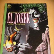 El Joker, Las historias jamás contadas, ed. Zinco, año 1989, ercom