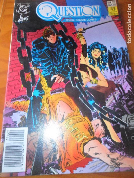 THE QUESTION Nº 29 - ZINCO DC COMICS (Tebeos y Comics - Zinco - Question)