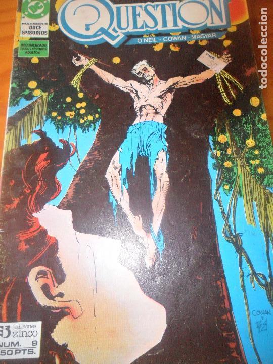 THE QUESTION Nº 9 - ZINCO DC COMICS (Tebeos y Comics - Zinco - Question)
