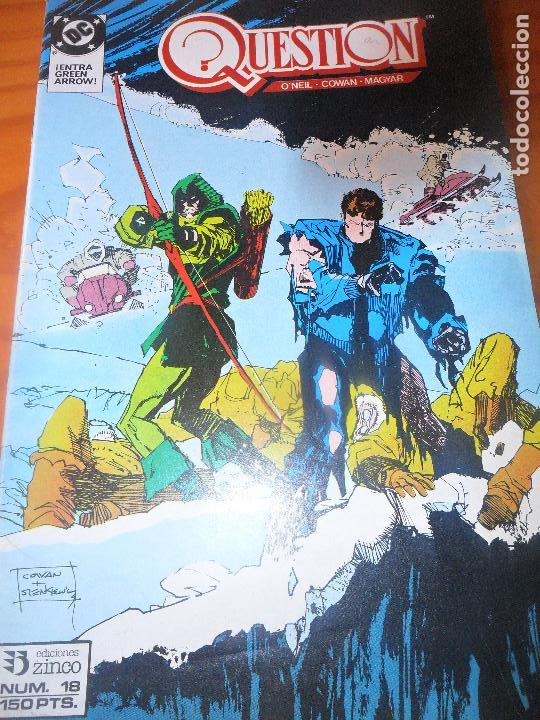 THE QUESTION Nº 18 - ZINCO DC COMICS (Tebeos y Comics - Zinco - Question)