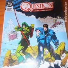 Cómics: THE QUESTION Nº 18 - ZINCO DC COMICS. Lote 79029389