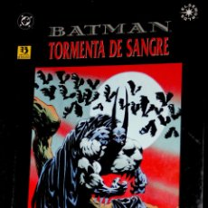 Cómics: BATMAN: TORMENTA DE SANGRE (DOUG MOENCH, KELLEY JONES & JOHN BEATTY)EXCELENTE. Lote 79542445