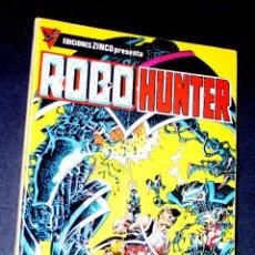 Cómics: ROBO-HUNTER [SERIE COMPLETA DE 5 EJEMPLARES EN UN RETAPADO] EDICIONES ZINCO, S. A. . Lote 79543213