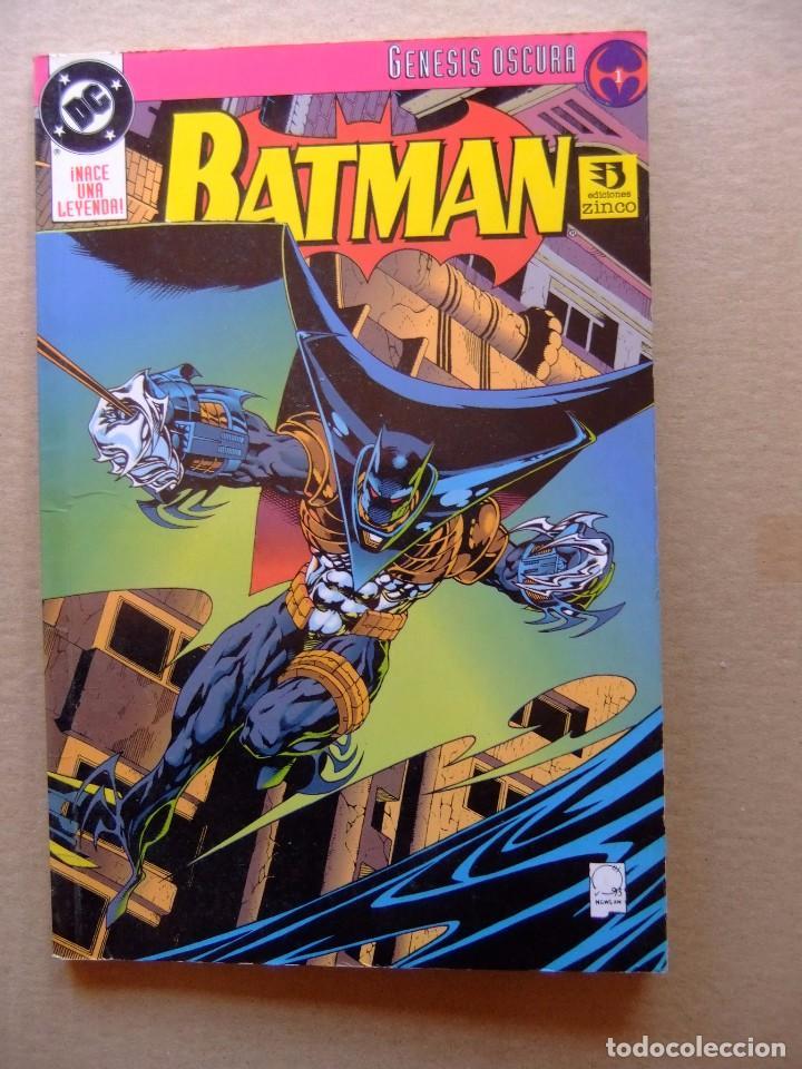 BATMAN GENESIS OSCURA 1 EDICIONES ZINCO (Tebeos y Comics - Zinco - Prestiges y Tomos)