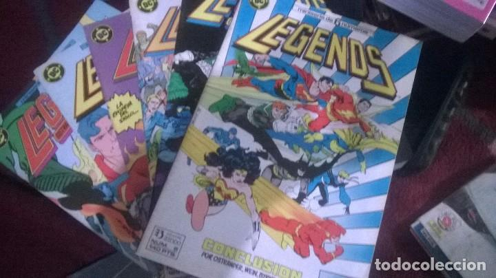 Cómics: LEGENDS MINISERIE COMPLETA ZINCO - Foto 1 - 80388665