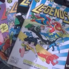 Cómics: LEGENDS MINISERIE COMPLETA ZINCO. Lote 80388665
