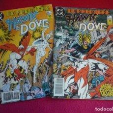 Cómics: DC PREMIERE 1 Y 2 HAWK & DOVE ( BARBARA Y KARL KESEL) ¡BUEN ESTADO! ZINCO HALCON Y PALOMA. Lote 80423381