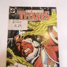 Cómics: COMIC LOS NUEVOS TITANES NUM 21 - EDICIONES ZINCO - 1990. Lote 80452085