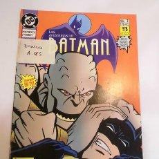 Cómics: COMIC LAS AVENTUTAS DE BATMAN . SERIE TV NUMS 7 - EDICIONES ZINCO - 1993. Lote 80452357