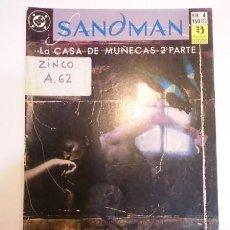 Cómics: SANDMAN NUM 4 - EDICIONES ZINCO - 1991. Lote 80452966