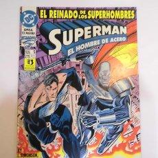 Cómics: SUPERMAN EL HOMBRE DE ACERO - NUM 5 - ESPECIAL 52 PAGS - EDICIONES ZINCO - 1994. Lote 80453905