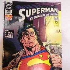 Cómics: SUPERMAN EL HOMBRE DE ACERO - NUM 6 - ESPECIAL 52 PAGS - EDICIONES ZINCO - 1994. Lote 80453917