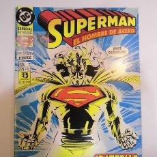 Cómics: SUPERMAN EL HOMBRE DE ACERO - NUM 7 - ESPECIAL 52 PAGS - EDICIONES ZINCO - 1994. Lote 80453925