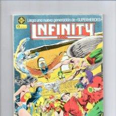 Cómics: INFINITY INC Nº 1 ** TACO DE 4 NUMEROS DEL 1 AL 4 ** LE FALTA EL 1* DC * ZINCO. Lote 80487033