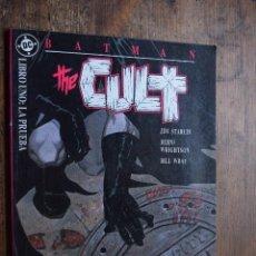 Cómics: BAT MAN THE CULT, LIBRO UNO, LA PRUEBA, CD, ZINCO, 1989. Lote 263628400