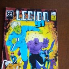 Cómics: LEGION 91 N 1 COMPLETO L2 P3. Lote 80726870