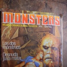 Cómics: MONSTERS Nº 4, ZINCO, 1981. Lote 80802219