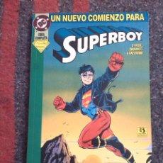 Cómics: SUPERBOY UN NUEVO COMIENZO. Lote 81556220