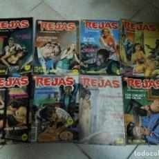 Cómics: REJAS , RELATOS GRAFICOS PARA ADULTOS - LOTE 6 CÓMICS. Lote 81701376
