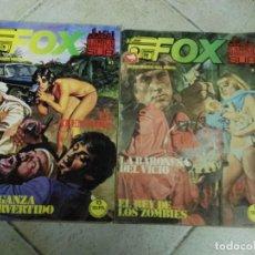 Cómics: LOTE DE 2 COMICS FOX - EL HOMBRE DE MANHATTAN SUR, RELATOS GRAFICOS PARA ADULTOS . Lote 81703476