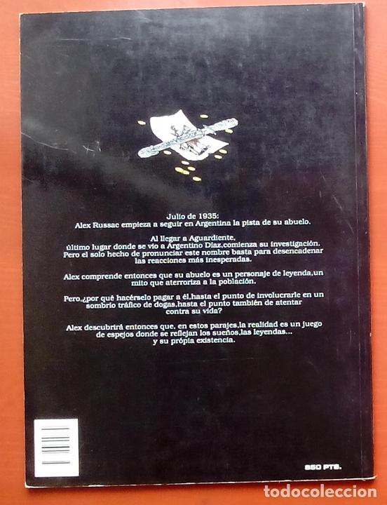 Cómics: ESTADO MÓRBIDO- HULET,MURALLAS DE ESPUMA -TURF,MOUCLIER, ALEX RUSSAC- GARRIGUE (Lote de 3 tomos) - Foto 3 - 81945295