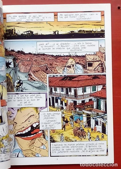 Cómics: ESTADO MÓRBIDO- HULET,MURALLAS DE ESPUMA -TURF,MOUCLIER, ALEX RUSSAC- GARRIGUE (Lote de 3 tomos) - Foto 5 - 81945295
