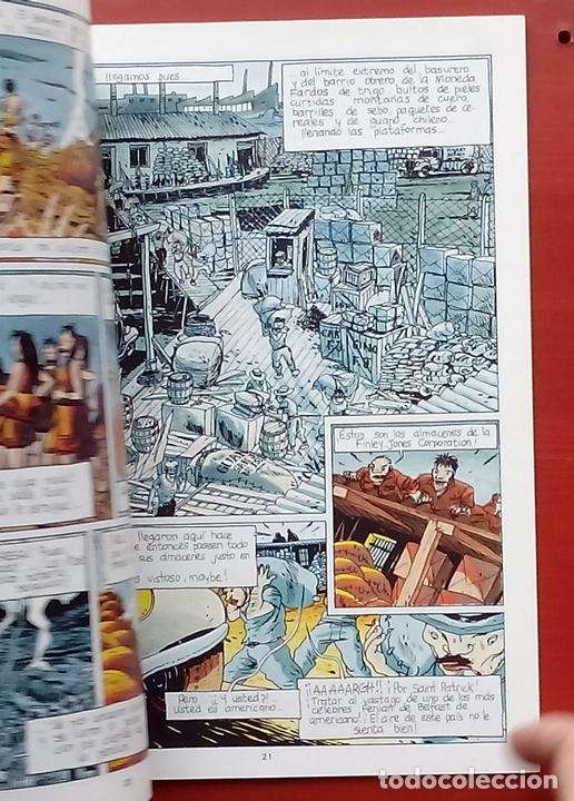 Cómics: ESTADO MÓRBIDO- HULET,MURALLAS DE ESPUMA -TURF,MOUCLIER, ALEX RUSSAC- GARRIGUE (Lote de 3 tomos) - Foto 6 - 81945295