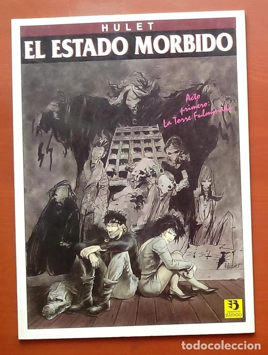 Cómics: ESTADO MÓRBIDO- HULET,MURALLAS DE ESPUMA -TURF,MOUCLIER, ALEX RUSSAC- GARRIGUE (Lote de 3 tomos) - Foto 8 - 81945295