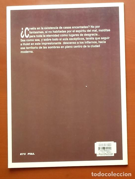 Cómics: ESTADO MÓRBIDO- HULET,MURALLAS DE ESPUMA -TURF,MOUCLIER, ALEX RUSSAC- GARRIGUE (Lote de 3 tomos) - Foto 9 - 81945295