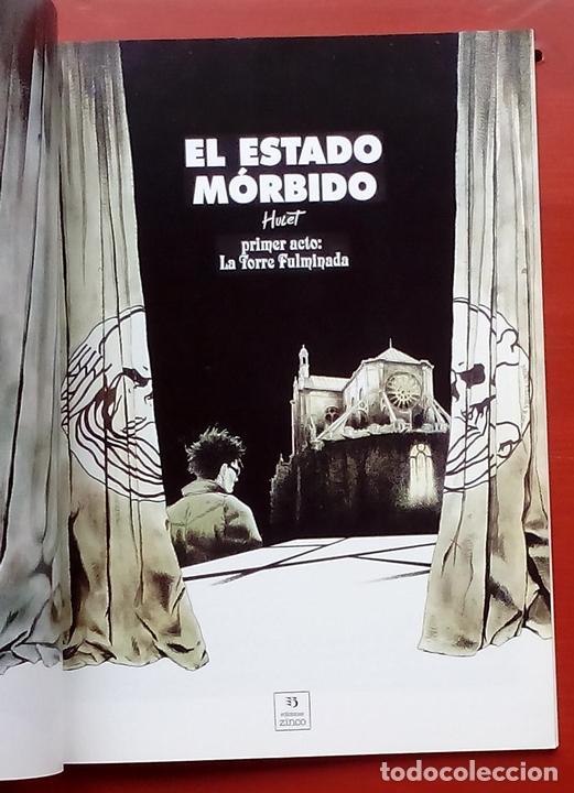 Cómics: ESTADO MÓRBIDO- HULET,MURALLAS DE ESPUMA -TURF,MOUCLIER, ALEX RUSSAC- GARRIGUE (Lote de 3 tomos) - Foto 10 - 81945295