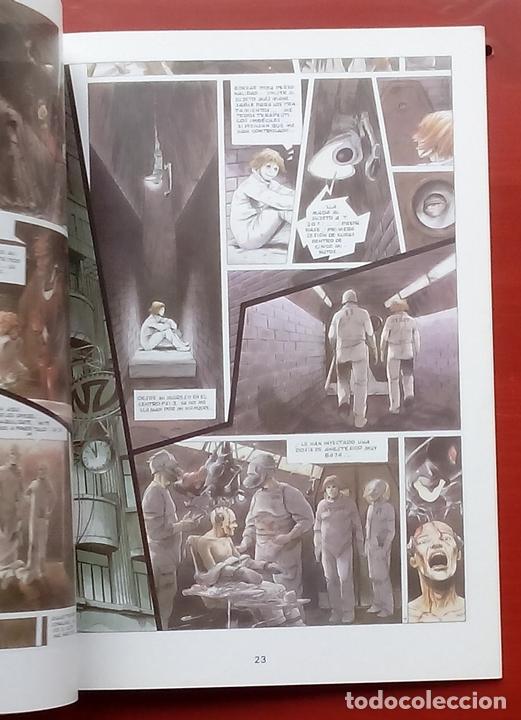 Cómics: ESTADO MÓRBIDO- HULET,MURALLAS DE ESPUMA -TURF,MOUCLIER, ALEX RUSSAC- GARRIGUE (Lote de 3 tomos) - Foto 11 - 81945295