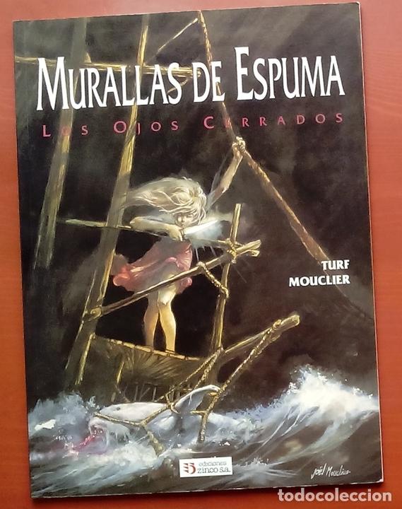 Cómics: ESTADO MÓRBIDO- HULET,MURALLAS DE ESPUMA -TURF,MOUCLIER, ALEX RUSSAC- GARRIGUE (Lote de 3 tomos) - Foto 12 - 81945295