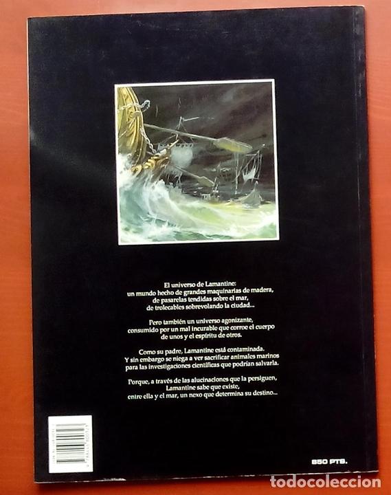 Cómics: ESTADO MÓRBIDO- HULET,MURALLAS DE ESPUMA -TURF,MOUCLIER, ALEX RUSSAC- GARRIGUE (Lote de 3 tomos) - Foto 13 - 81945295