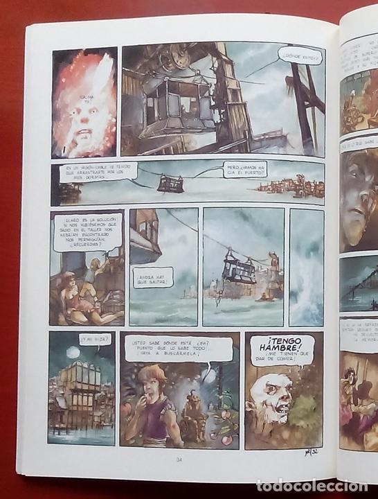 Cómics: ESTADO MÓRBIDO- HULET,MURALLAS DE ESPUMA -TURF,MOUCLIER, ALEX RUSSAC- GARRIGUE (Lote de 3 tomos) - Foto 15 - 81945295