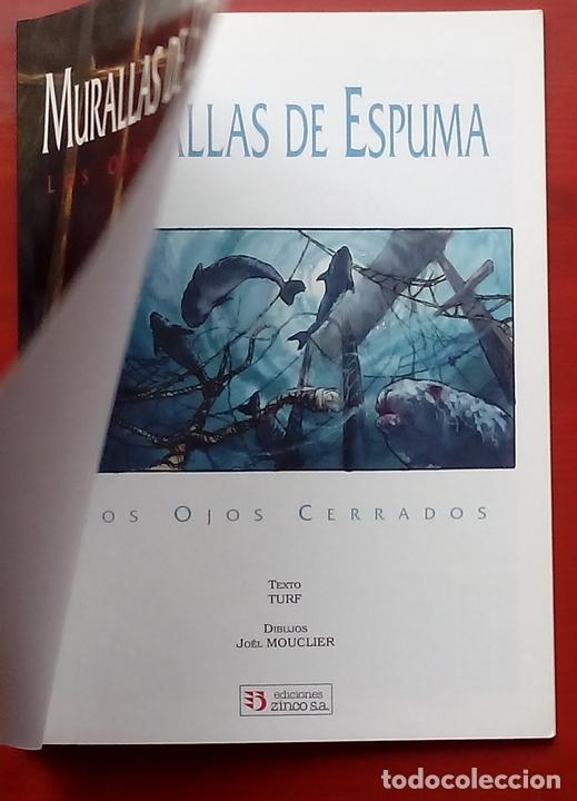 Cómics: ESTADO MÓRBIDO- HULET,MURALLAS DE ESPUMA -TURF,MOUCLIER, ALEX RUSSAC- GARRIGUE (Lote de 3 tomos) - Foto 17 - 81945295