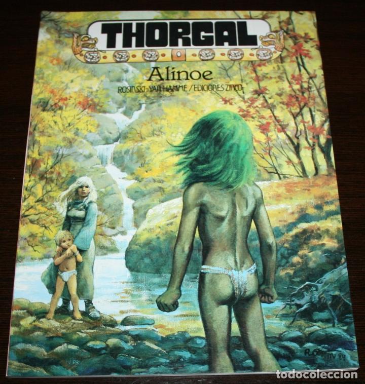 THORGAL - ALINOE - ROSINSKI/VAN HAMME - EDICIONES ZINCO - 1986 (Tebeos y Comics - Zinco - Otros)