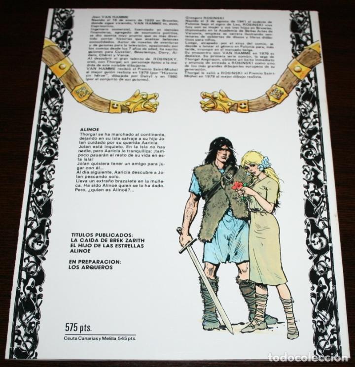 Cómics: THORGAL - ALINOE - ROSINSKI/VAN HAMME - EDICIONES ZINCO - 1986 - Foto 2 - 82517000