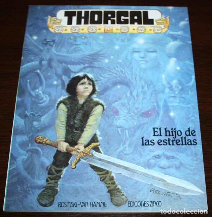 THORGAL - EL HIJO DE LAS ESTRELLAS - ROSINSKI/VAN HAMME - EDICIONES ZINCO - 1986 (Tebeos y Comics - Zinco - Otros)