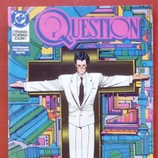 Cómics: THE QUESTION 11 POR DENNY O'NEIL, DENYS COWAN - EDICIONES ZINCO (1988). Lote 82882844
