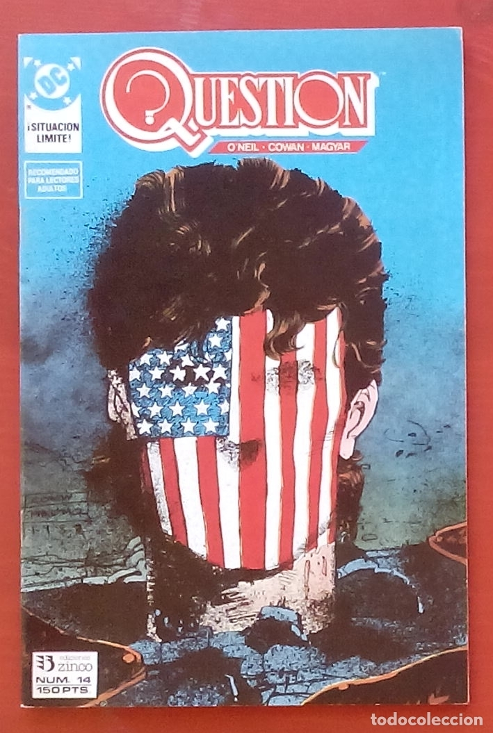 THE QUESTION 14 POR DENNY O'NEIL, DENYS COWAN - EDICIONES ZINCO (1988) (Tebeos y Comics - Zinco - Question)