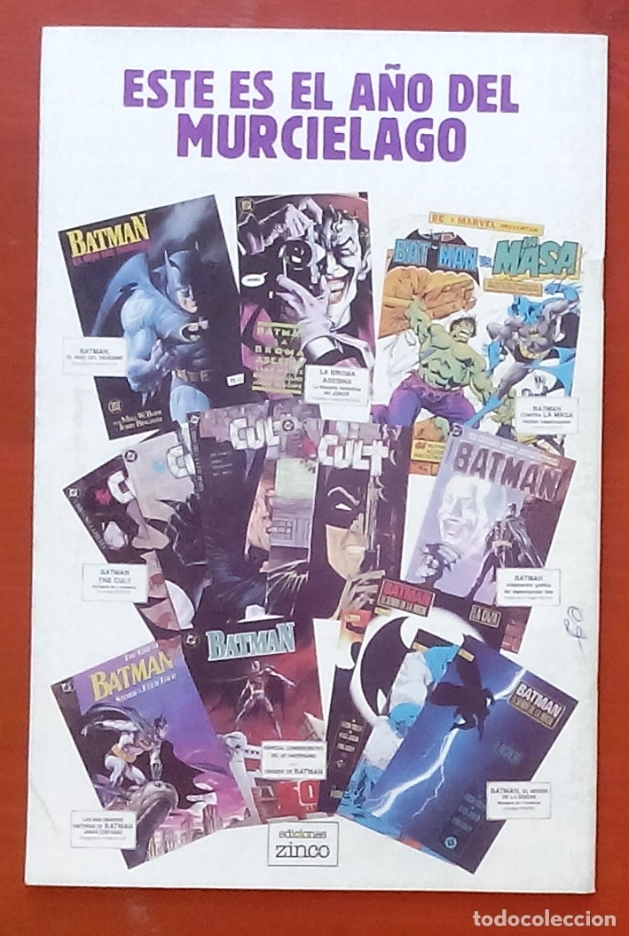 Cómics: The Question 14 por Denny ONeil, Denys Cowan - Ediciones Zinco (1988) - Foto 2 - 82883050