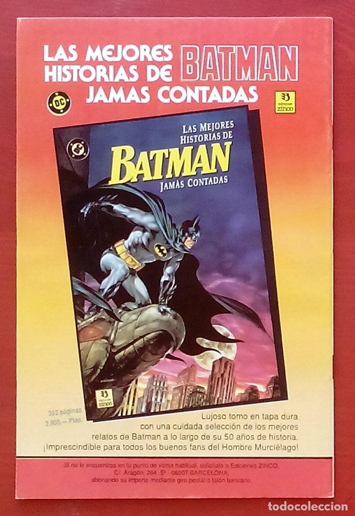 Cómics: The Question 15 por Denny ONeil, Denys Cowan - Ediciones Zinco (1988) - Foto 2 - 82883107