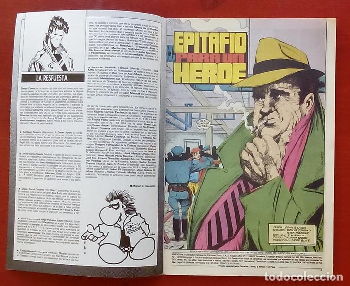 Cómics: The Question 15 por Denny ONeil, Denys Cowan - Ediciones Zinco (1988) - Foto 3 - 82883107