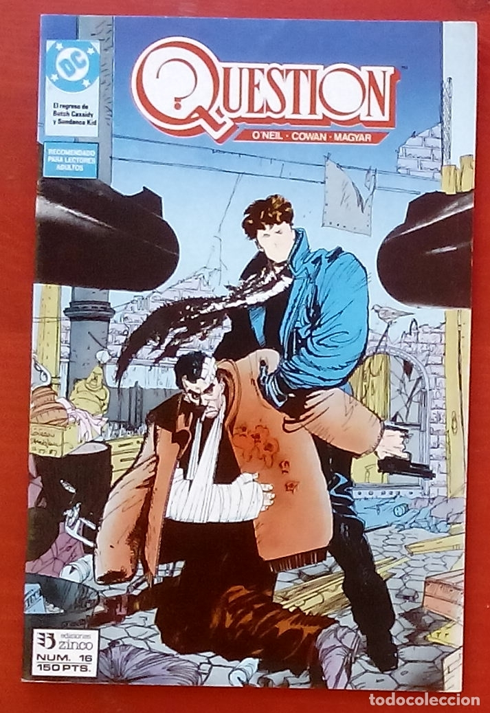 THE QUESTION 16 POR DENNY O'NEIL, DENYS COWAN - EDICIONES ZINCO (1988) (Tebeos y Comics - Zinco - Question)