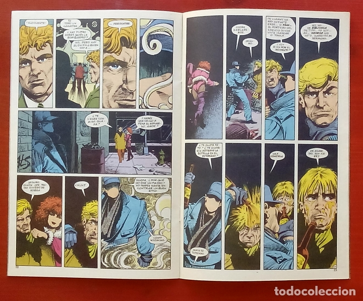 Cómics: The Question 16 por Denny ONeil, Denys Cowan - Ediciones Zinco (1988) - Foto 4 - 82883159