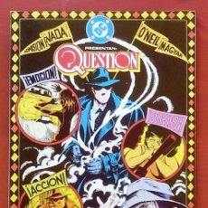 Cómics: THE QUESTION 20 POR DENNY O'NEIL, DENYS COWAN - EDICIONES ZINCO (1989). Lote 82883276