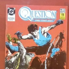 Cómics: THE QUESTION 22 POR DENNY O'NEIL, DENYS COWAN - EDICIONES ZINCO (1989). Lote 82883370