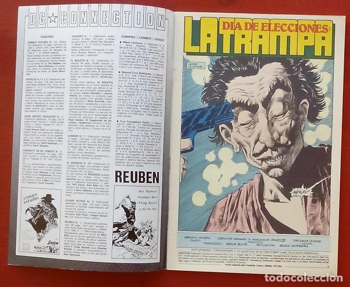 Cómics: The Question 22 por Denny ONeil, Denys Cowan - Ediciones Zinco (1989) - Foto 3 - 82883370