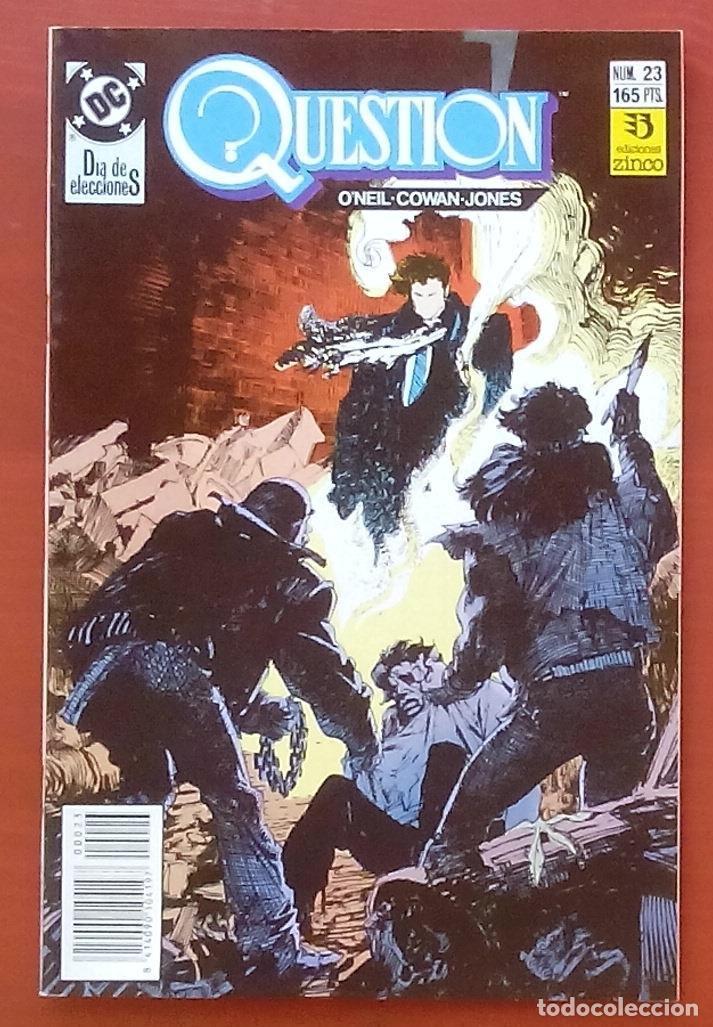 THE QUESTION 23 POR DENNY O'NEIL, DENYS COWAN - EDICIONES ZINCO (1989) (Tebeos y Comics - Zinco - Question)